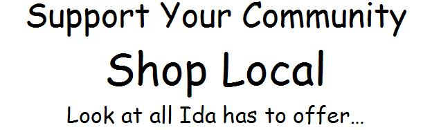 Shop local words for header